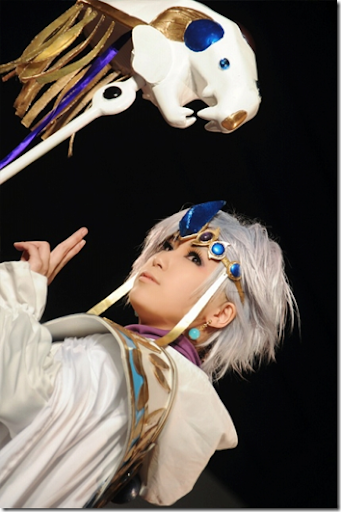 magic knight rayearth cosplay - guru clef