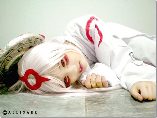 okami cosplay - amaterasu