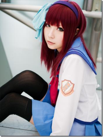 angel beats! cosplay - nakamura yuri 03 / yurippe by ayano yuura
