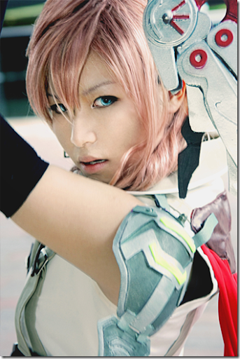 final fantasy xiii cosplay - eclair / claire farron aka lightning 02 by rainer tachibana