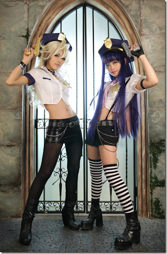 panty & stocking with garterbelt cosplay - panty and stocking by tasha and tomia