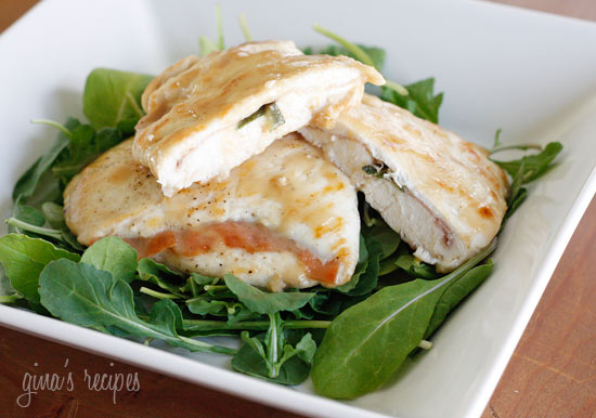 Lighter Chicken Saltimbocca | Skinnytaste
