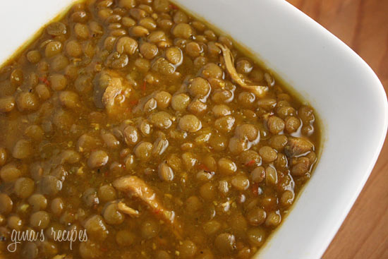 Lentil And Chicken Soup - 3 pts