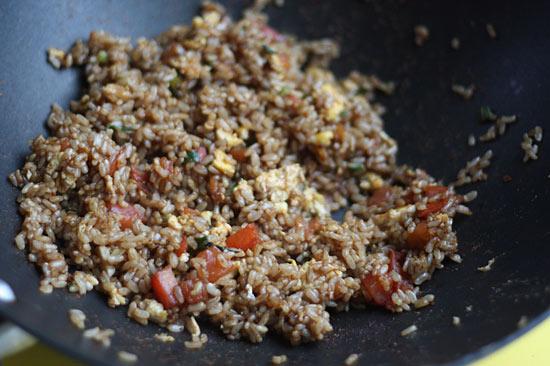 Brown Fried Rice | Skinnytaste