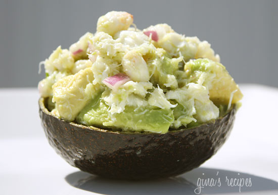 Avocado and Crab Salad | Skinnytaste