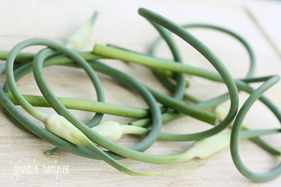 Garlic Scape Basil Pesto | Skinnytaste