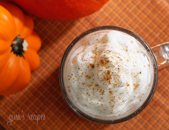 how to make pumpkin spice latte skinny