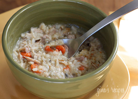 chicken and wild rice soup Cooking with the Coopers