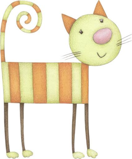 Dibujos de gatos y perros para decorar la habitacion infantil - Dibujo habitacion infantil ...