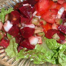 Dilly Tomato and Beet Salad