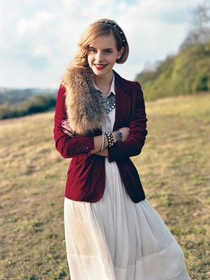 emma watson vogue teen 2009 august
