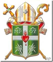 Brasão Eclesial da Diocese dos Palmares