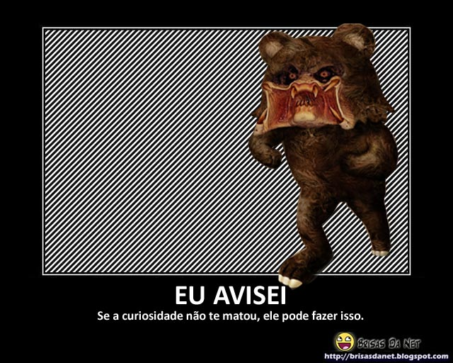 monstro pedo bear