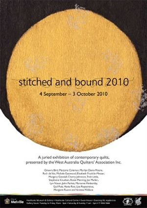 Stitched and Bound Poster