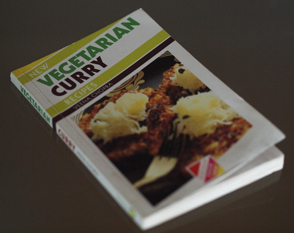vegetarian curry recipe book