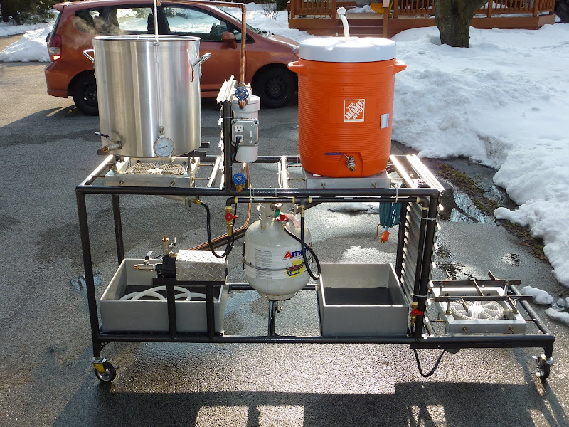 how to make a brewing stand work