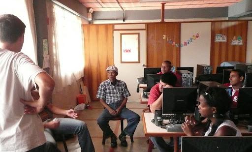 L'équipe réunie autour du projet