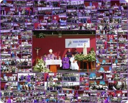 Eucaristia da Despedida da Imagem Peregrina no Porto Santo1