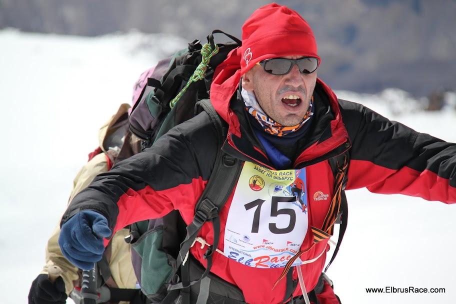 Elbrus Race participant Abisalov Anatoly