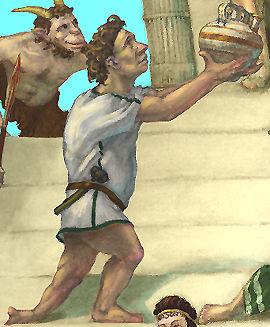 God Hephaestus Cover
