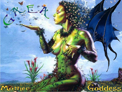 Goddess Gaea Cover