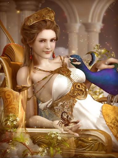 Goddess Hera Cover