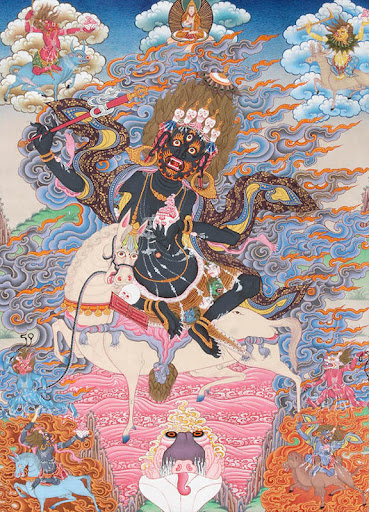 Goddess Palden Lhamo Cover