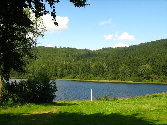 Jezioro w Czechach