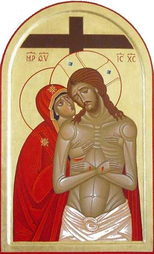 Maria con Crocifisso