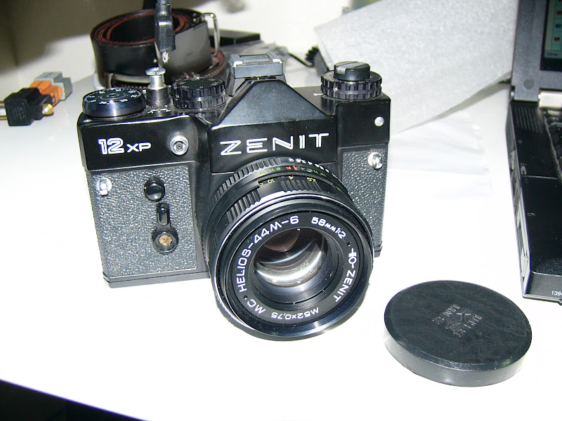 ZENIT 12XP + HELIOS-44M-6 58mm 1:2