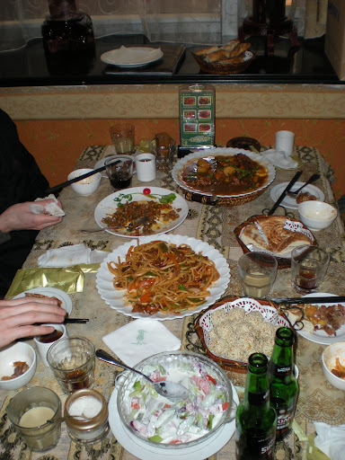Xinjiangese Food from the Muslim restaurant