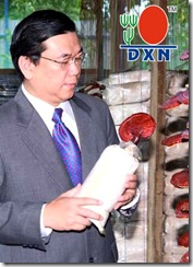 Dato Lim  with  mushroom