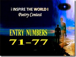 70 to 77 entry of poems