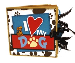I Love My Dog Scrapbook 1