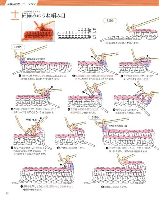 Những mũi MÓC (1) Crochet13