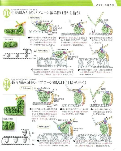 Những mũi MÓC (2) Crochet28