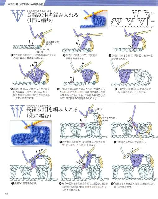 Những mũi MÓC (2) Crochet47