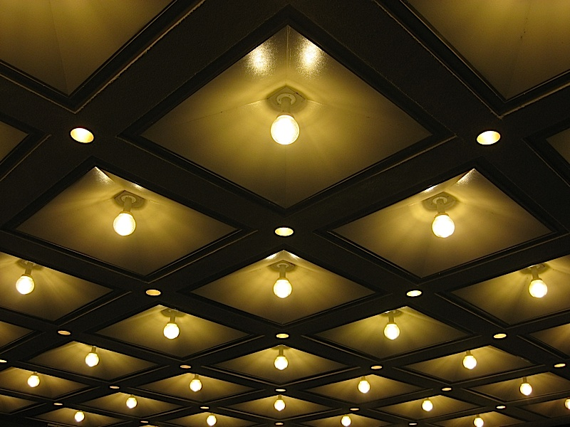 driveway canopy lights of Hotel Sofitel Manila