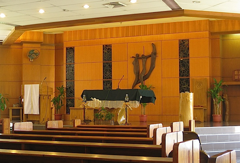 Chapel of Saint Thomas More in the Ateneo Professional Schools