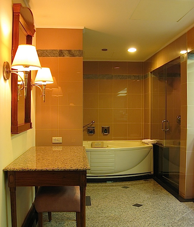 bathroom of Sofitel Manila's Opera Suite