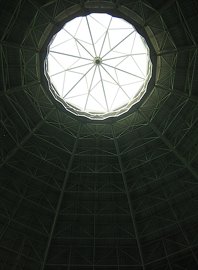 dome of the entrance hall of the Manila Ocean Park