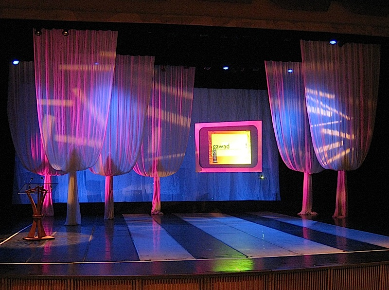 the CCP Little Theater stage for the 2009 Gawad Buhay!