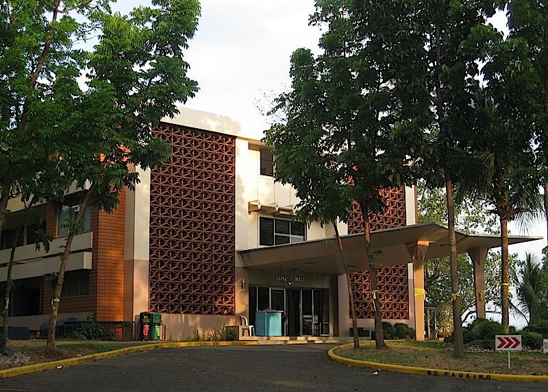 Eliazo Hall in Ateneo de Manila Universitiy