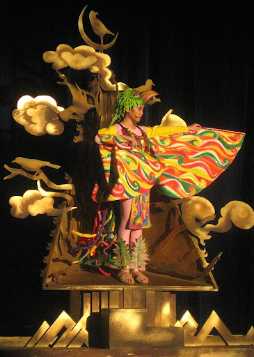 Ibong Adarna in the Ateneo Children's Theater's production of 'Adarna at ang Alaala ng Kristal'
