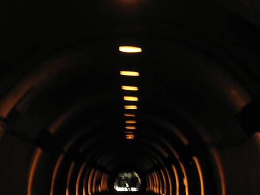 main Malinta Tunnel in Corregidor Island
