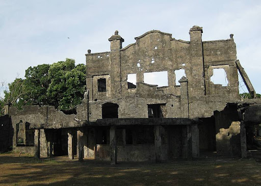 Cine Corregidor ruins in Corregidor Island