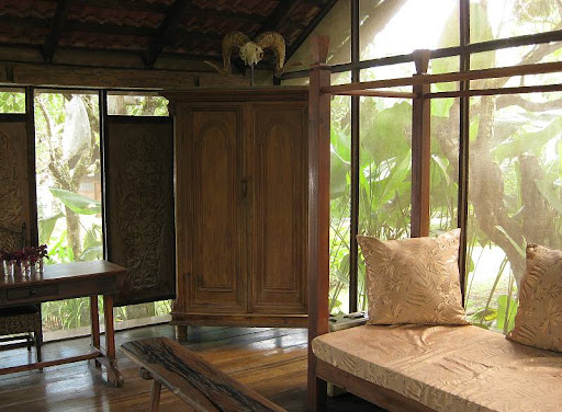 screened cabana with daybeds in Hacienda Isabella in Indang, Cavite