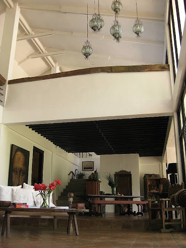 interior of the main house of Hacienda Isabella in Indang, Cavite