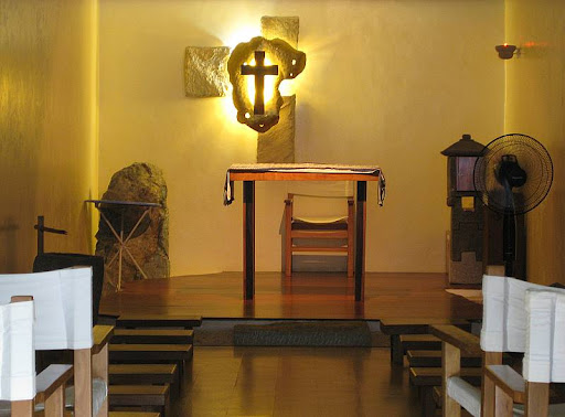 Chapel of Jesuit Saints and Blesseds at the Moro Lorenzo Sports Center of the Ateneo de Manila University