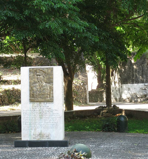 General Jonathan Wainwright's memorial in Corregidor Island